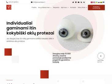 VPL akių protezavimo centras, filialas, UAB