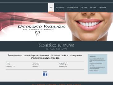 Ortodonto paslaugos, filialas, UAB