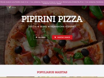 Pipirini Pizza, picerija
