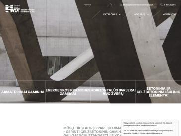 Gelžbetoninės konstrukcijos, UAB