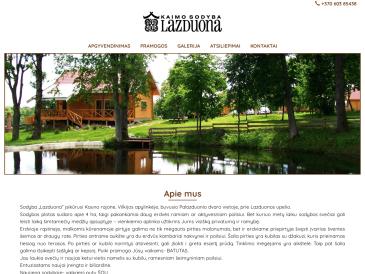 Lazduona, kaimo sodyba