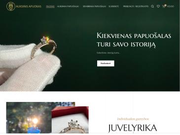 Auksinis apuokas, juvelyriniai dirbiniai, UAB