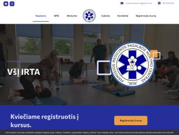 """Pirmosios medicinos pagalbos mokymo centras ,,IRTA"""", VŠĮ"""
