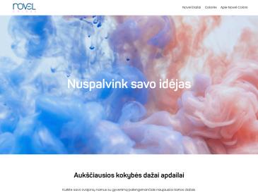 Novel Colors, parduotuvė, UAB