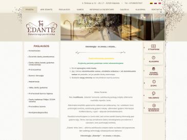 Edantė, odontologijos klinika, UAB