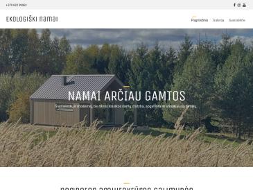 Ekologiški namai