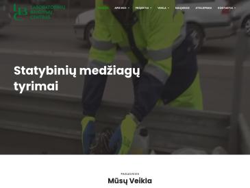 """Betono mišinių ir cemento tyrimų tarnyba, UAB """"Laboratorinių bandymų centras"""""""