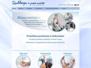 """Reabilitacijos ir grožio centras UAB """"Medakma"""""""