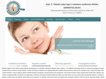 Gyd. V. Toliušio odos ligų ir estetinės medicinos klinika, Dermatologas