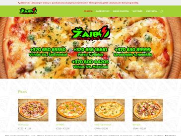 """Žaibo pizza, picerija, UAB """"Elito maistas"""""""