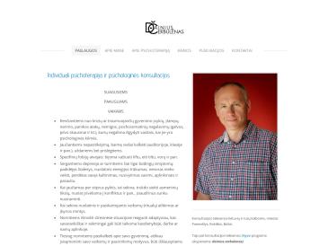 Psichologas - psichoterapeutas Dainius Čerbulėnas