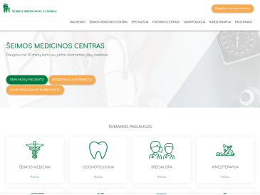 """Šeimos medicinos centras ir odontologinis kabinetas, UAB """"Medicinos paslaugų centras"""""""