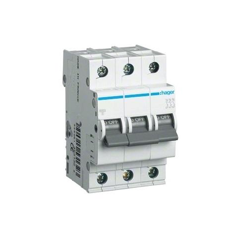 Automatinis jungiklis 3P C16 Hager