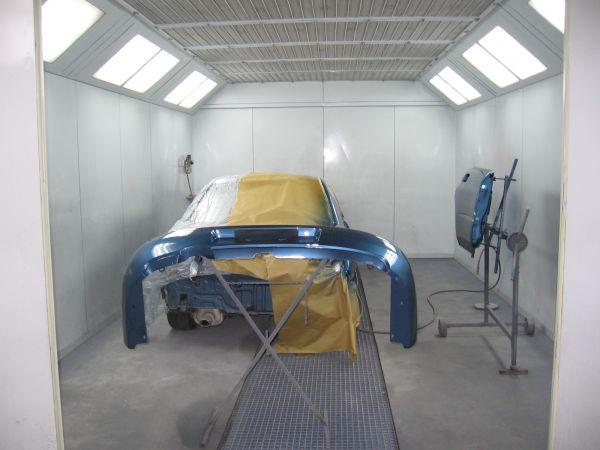 Paruošiame ir atliekame automobilio dažymą