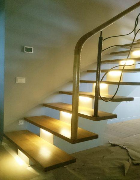 Modernūs laiptai