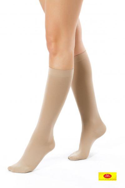 Gydomosios kompresinės kojinės iki kelių 1 kompresinė klasė
