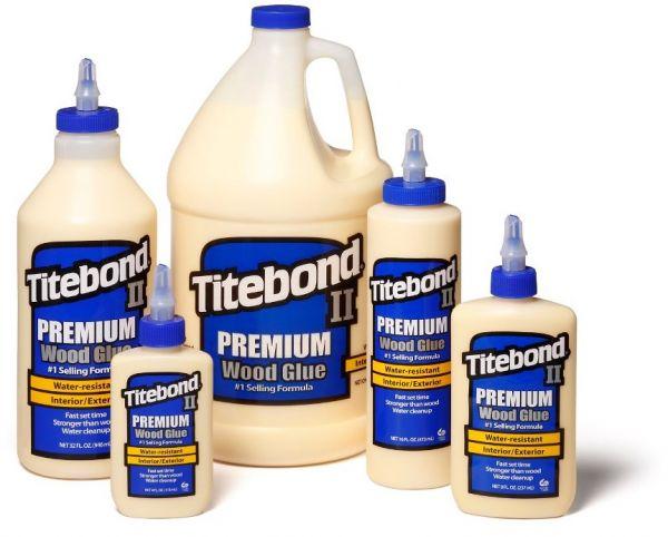 """""""Titebond II Premium"""" - Klijai Medienai (geltoni)"""