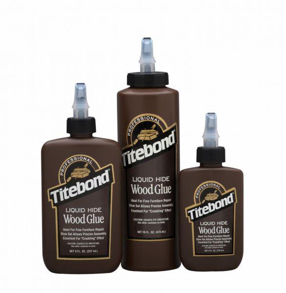 """Titebond Liquid Hide Glue"" - baltiminiai klijai medienai"