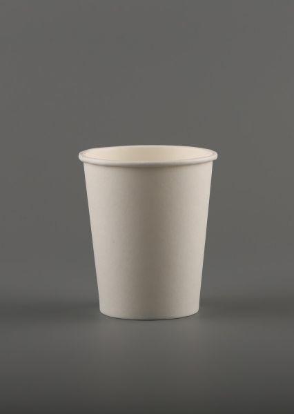 """Popieriniai puodeliai – stiklinės, vienasieniai """"Bianco"""", 8 oz"""