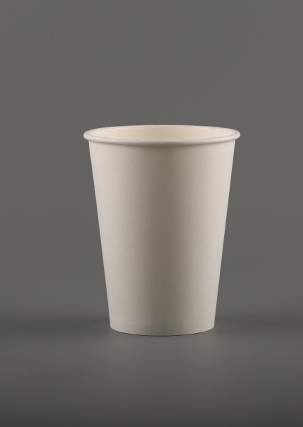 """Popieriniai puodeliai – stiklinės, vienasieniai, """"Bianco"""", 12 oz"""
