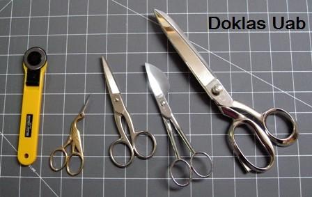 Žirklės siuvėjams