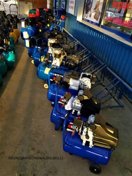 Fraser oro kompresoriai
