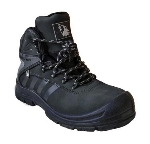 Žieminiai odiniai darbo batai