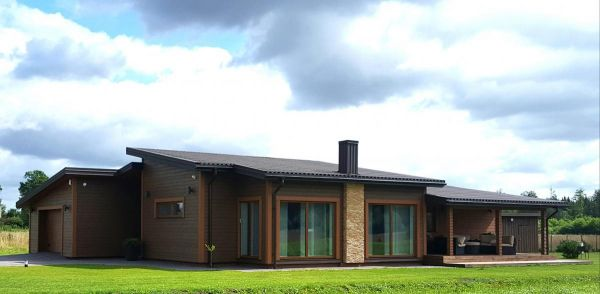 Karkasinių namų statyba, projektavimas