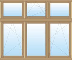 Mediniai euro langai