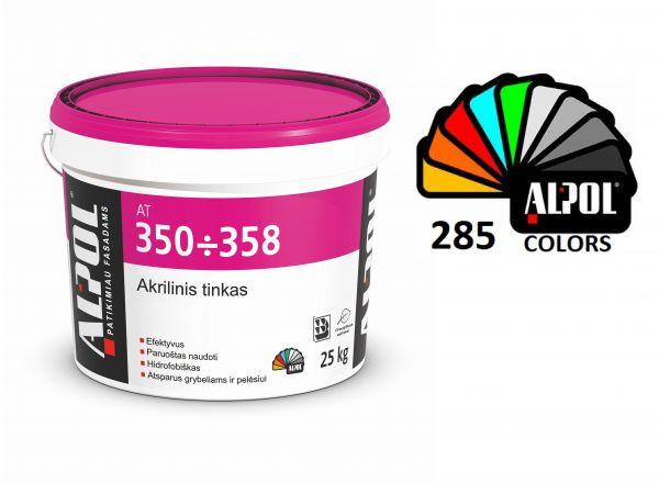 Akrilinis tinkas samanėlė 1,0 mm ALPOL AT 350 25 Kg (PURŠKIMUI)