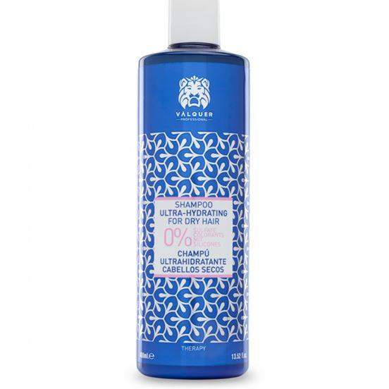 VALQUER ultra drėkinamasis šampūnas sausiems plaukams 400 ML