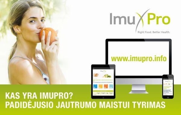 ImuPro Padidėjusio jautrumo maistui tyrimas