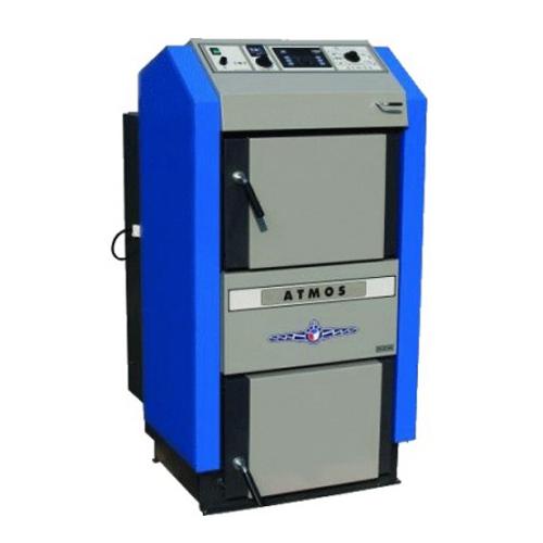 Plieninis dujų generacinis kieto kuro katilas Atmos DC 100; 99kw