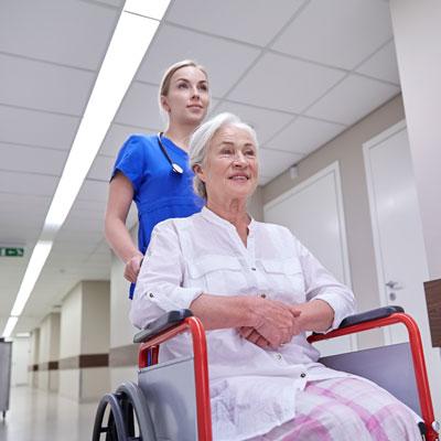 Ligonių priežiūra gydymo įstaigoje