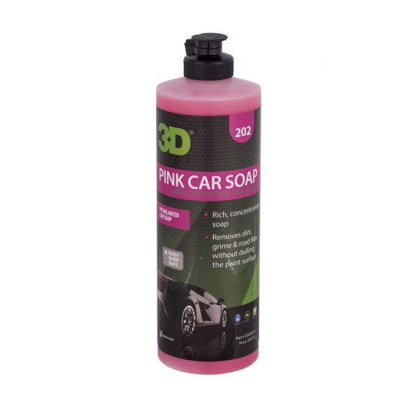 Pink Car Soap – automobilinis šampūnas