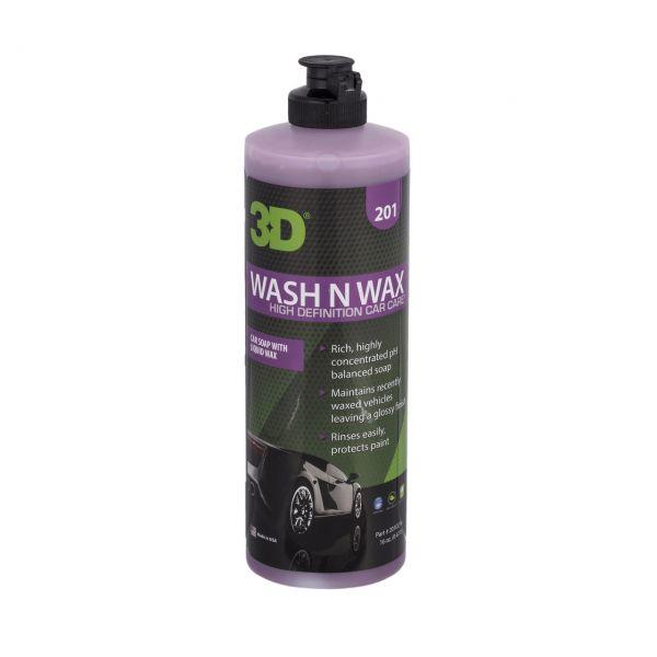 WASH N WAX – automobilinis šampūnas su vašku