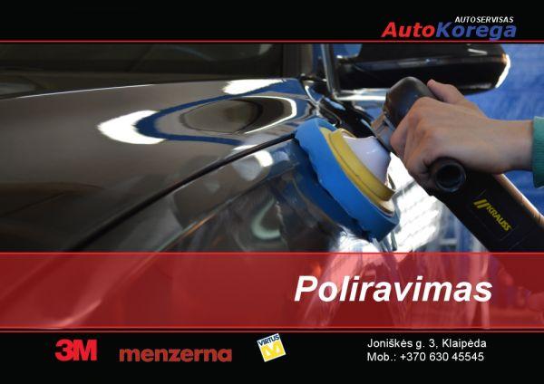 AUTOMOBILIO POLIRAVIMAS