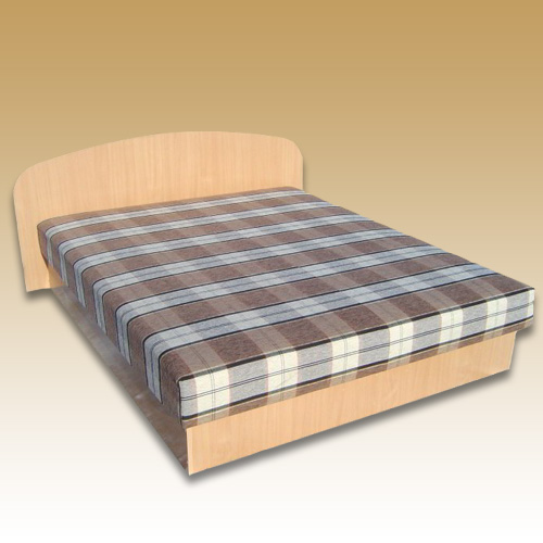 Dvigulė lova su patalynės dėže. Spyruoklinis čiužinys.