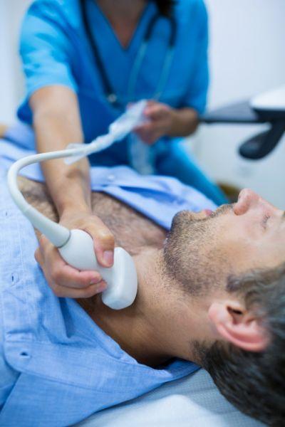 Kaklo kraujagyslių echoskopija