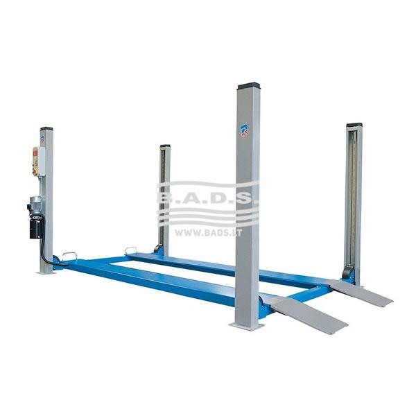 Keltuvas keturių kolonų lygiomis platformomis