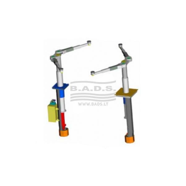 "Elektrohidraulinis cilindrinis keltuvas ""Nussbaum Top lift 2.35 TTL K SST Standard"""