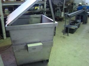 Metalo gaminiai, nestandartiniai metalo gaminiai