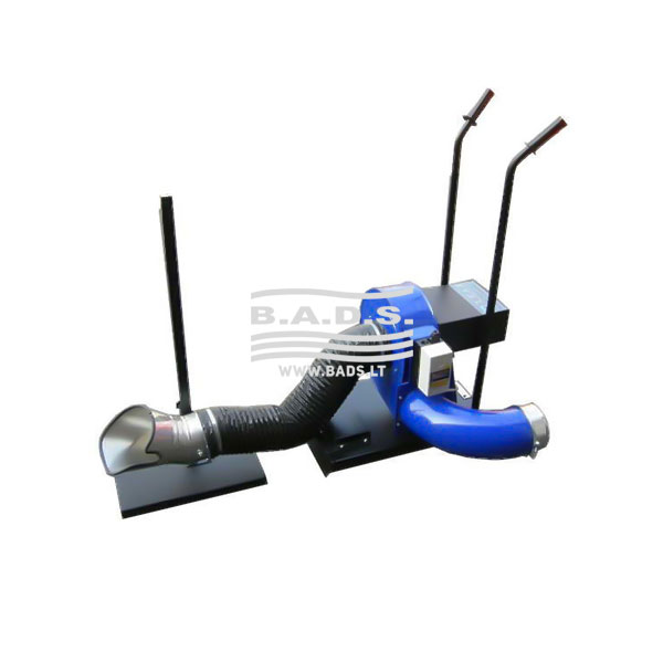 Mobili išmetamųjų dujų surinkimo sistema TROTTER-100/S