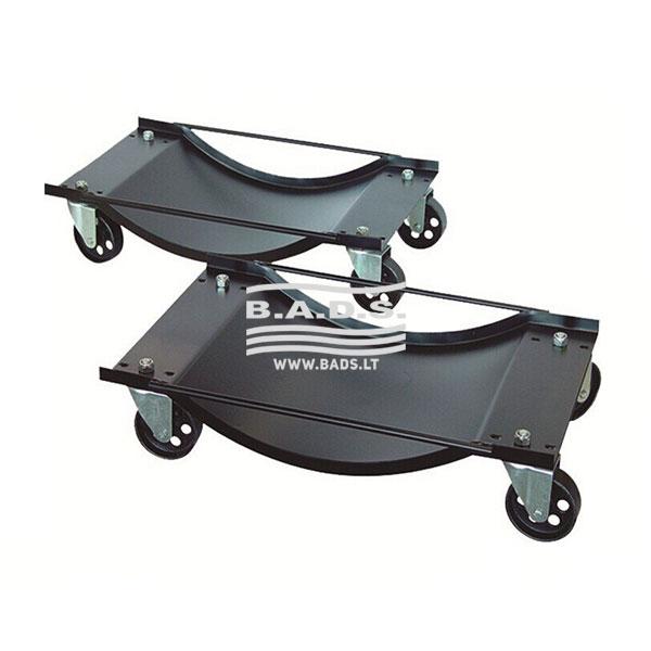 Automobilių transportavimo vežimėlis 2vnt.