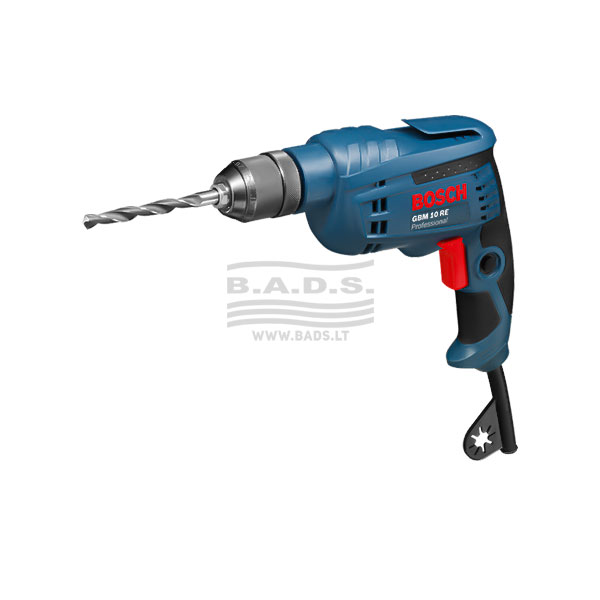 Elektrinis gręžtuvas GBM 10 RE Professional