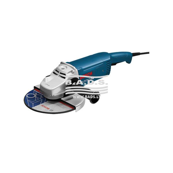 Kampinio šlifavimo mašina GWS 20-230 JH Professional