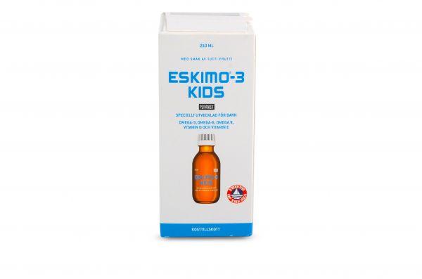 Žuvų taukai Eskimo 3 Kids