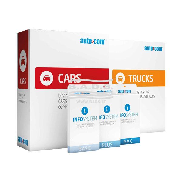 Diagnostinis prietaisas L. automobiliams ir sunkvežimiams AUTOCOM CDP+ CARS & TRUCS