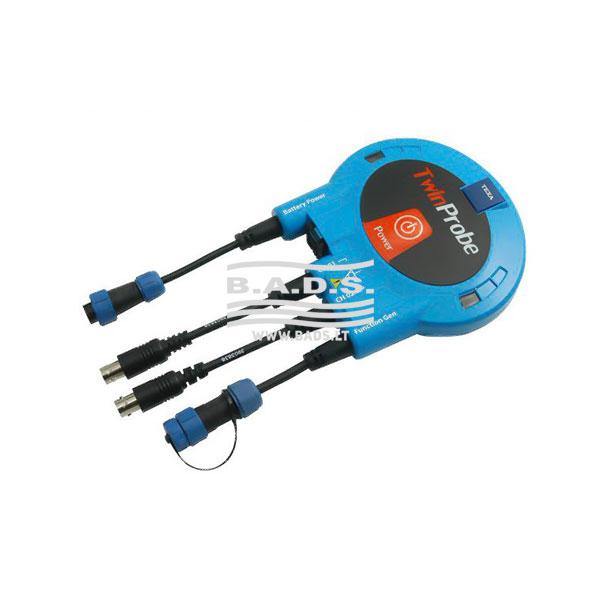 Matavimų prietaisas ir signalų generatorius TWIN PROBE