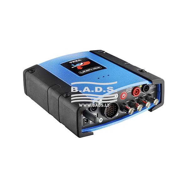 Matavimų prietaisas ir signalų generatorius UNIPROBE (4 kanalų oscilografas)
